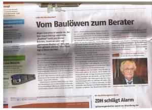 Baulöwe Schneider