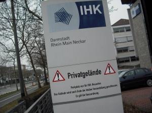 IHK-Darmstadt-Privatgelände