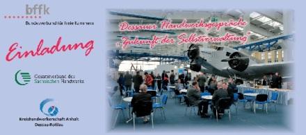 Einladung Dessauer Handwerksgepräche 2014-Einladung