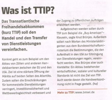 Was ist TTIP